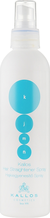 Спрей для волос выравнивающий - Kallos Cosmetics Hair Straightener Spray