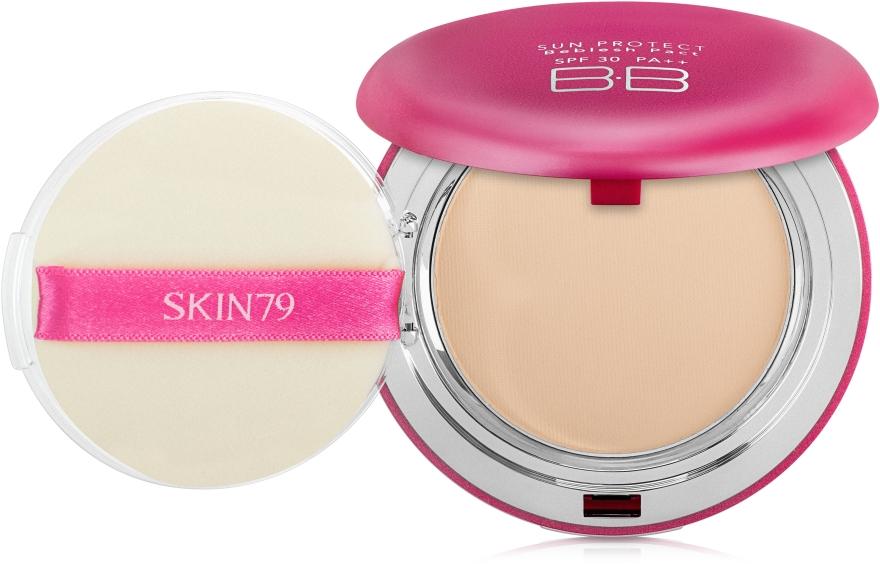 Многофункциональная компактная BB-пудра - Skin79 Sun Protect Beblesh Pact SPF30 PA++