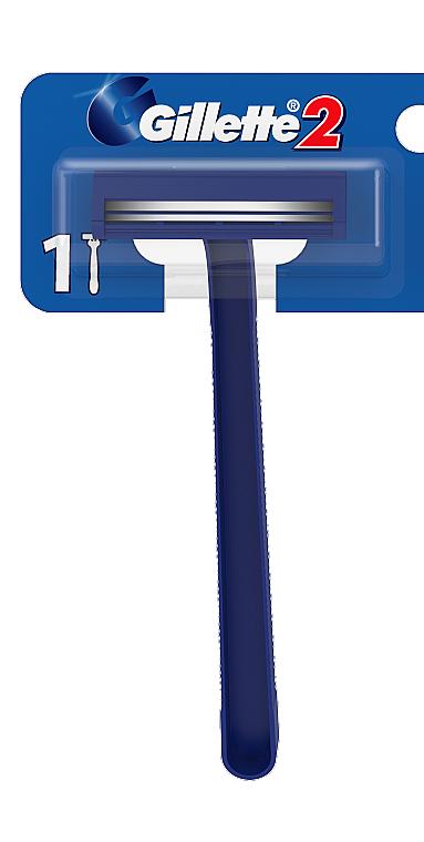 Одноразовый станок для бритья - Gillette 2 (x2)