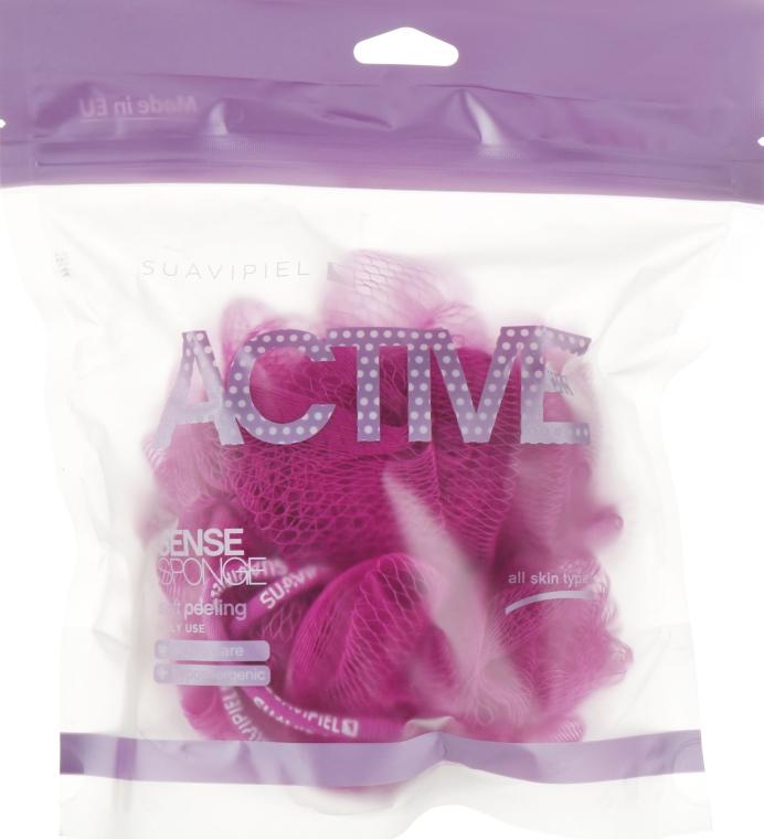 Мочалка для душа, розовая - Suavipiel Active Sense Sponge