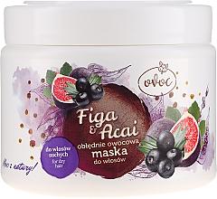 Духи, Парфюмерия, косметика Маска для волос с экстрактом инжира, фруктов и маслом ши - Ovoc Figa & Acai Mask