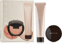 Духи, Парфюмерия, косметика Набор - Becca Iconics Cheeky Glow Kit (primer/15ml + blush/3.4g)