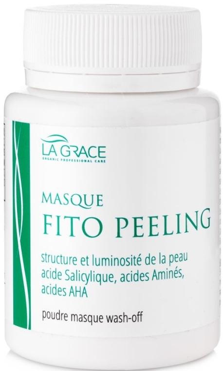 """Маска-порошок для лица """"Фитопилинг"""" с салициловой кислотой и аминокислотами - La Grace Fito Peeling Poudre Masque Wash-Off"""