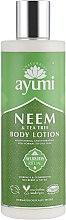 Духи, Парфюмерия, косметика Лосьон для тела - Ayumi Neem & Tea Tree Body Lotion