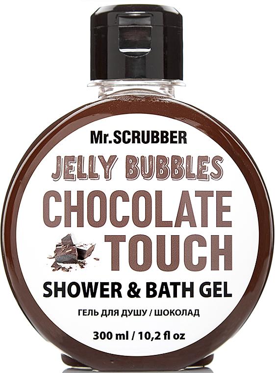 "Гель для душа ""Chocolate"" - Mr.Scrubber Jelly Bubbles Shower & Bath Gel"