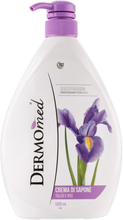 "Крем-мыло ""Тальк и ирис"" - Dermomed Cream Soap Talc And Iris"