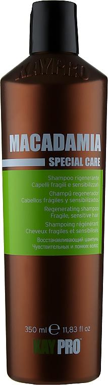 Шампунь с маслом макадамии - KayPro Special Care Shampoo