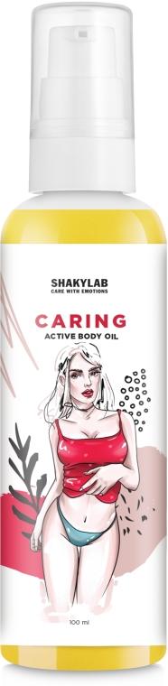 """Масло ухаживающее для тела """"Caring"""" - SHAKYLAB Body Active Caring Oil"""