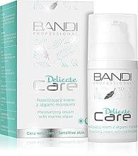 Духи, Парфюмерия, косметика Увлажняющий крем для лица с морскими водорослями - Bandi Professional Delicate Care Moisturizing Cream