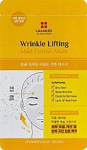 Духи, Парфюмерия, косметика Тканевая маска - Leaders Ex Solution Mild Cotton Mask Wrinkle Lifting