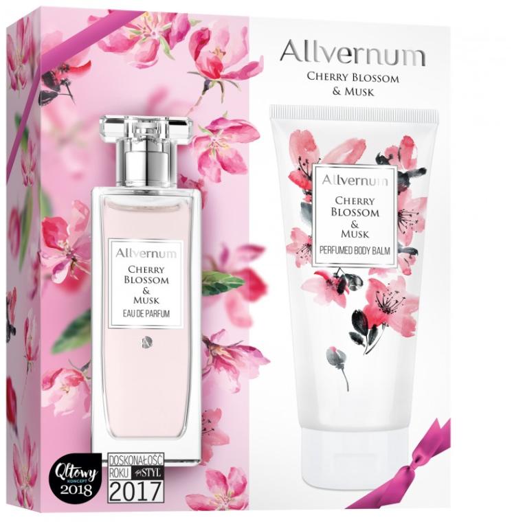 Allvernum Cherry Blossom & Musk - Набор (edp/50ml + b/lot/200ml)