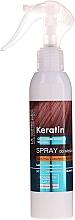 Спрей для тусклых и ломких волос Кератин + Аргенин + Коллаген - Dr. Sante Keratin Spray — фото N3