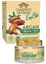 Духи, Парфюмерия, косметика Крем для лица - Giardino Dei Sensi Eco Bio Argan Anti-Age Face Cream