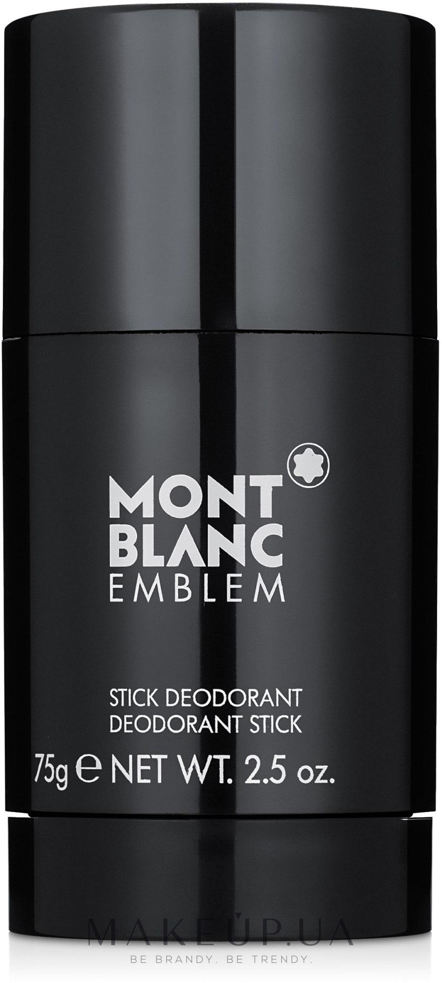 Montblanc Emblem - Дезодорант-стик — фото 75g