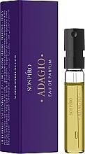 Духи, Парфюмерия, косметика Sospiro Perfumes Adagio - Парфюмированная вода (пробник)