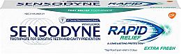 Духи, Парфюмерия, косметика Зубная паста для чуствительных зубов - Sensodyne Rapid Extra Fresh