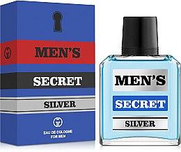 Духи, Парфюмерия, косметика Gianni Gentile Men's Secret Silver - Одеколон