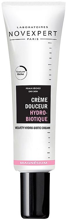 Крем бархатный гидро-биотический для лица - Novexpert Magnesium Velvety Hydrobiotic Cream