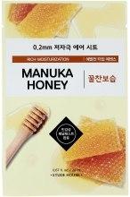 Духи, Парфюмерия, косметика Ультратонкая маска для лица с экстрактом меда манука - Etude House Therapy Air Mask Manuka Honey