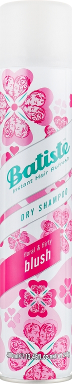 Сухой шампунь - Batiste Dry Shampoo Floral and Flirty Blush
