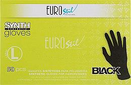 Духи, Парфюмерия, косметика Перчатки для окрашивания 03463, большие, 50 шт. - Eurostil Synth Large Gloves
