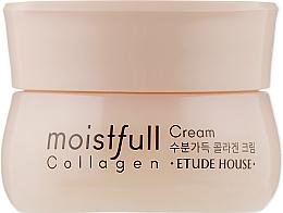 Духи, Парфюмерия, косметика Крем для лица коллагеновый - Etude House Moistfull Collagen Cream (мини)