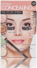 Парфумерія, косметика Кремова палетка для скульптурування обличчя - Bellapierre Extreme Concealing Kit