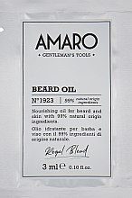Парфумерія, косметика Олія для бороди - FarmaVita Amaro Beard Oil (пробник)
