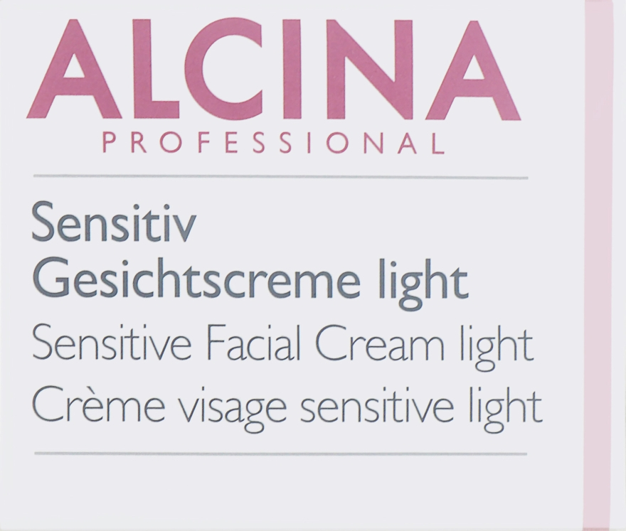 Крем для чувствительной кожи - Alcina S Sensitive Facial Cream Light