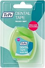 Духи, Парфюмерия, косметика Зубная нить, 40 м - TePe Dental Tape Waxed Mint