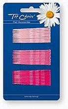 Духи, Парфюмерия, косметика Заколки-невидимки для волос, розовые, 30 шт - Top Choice