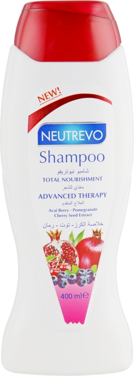 Шампунь для волос c ягодами асаи и гранатом - Neutrevo Advanced Therapy Total Nourishment