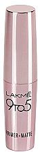 Духи, Парфюмерия, косметика РАСПРОДАЖА Матовая губная помада - Lakme India 9 to 5 Primer Matte Lip Color *