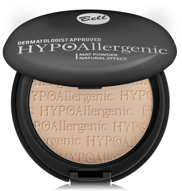 Матирующая гипоаллергенная пудра - Bell HypoAllergenic Mat Powder