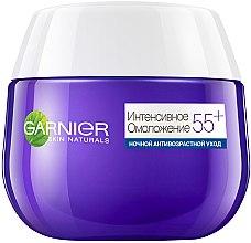 Нічний крем для обличчя - Garnier Skin Naturals Інтенсивне Омолодження 55+ — фото N2