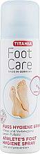 Духи, Парфюмерия, косметика Спрей для ступней ног, защитный, против грибковых инфекций - Titania Foot Care Spray
