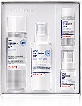 Духи, Парфюмерия, косметика Набор - Neogen Super Hyaluronic 100 Aqua Skin Care Set (toner/140ml, 30 ml + emul/120ml, 20 ml)