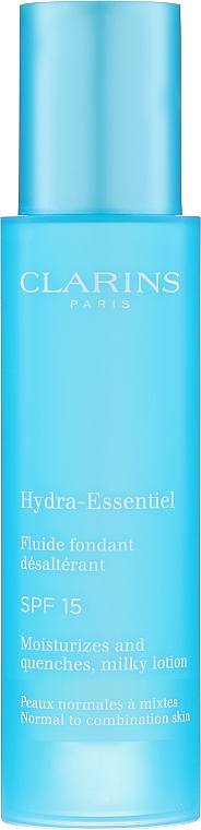 Молочко для лица - Clarins Hydra-Essentiel Milky Lotion SPF 15