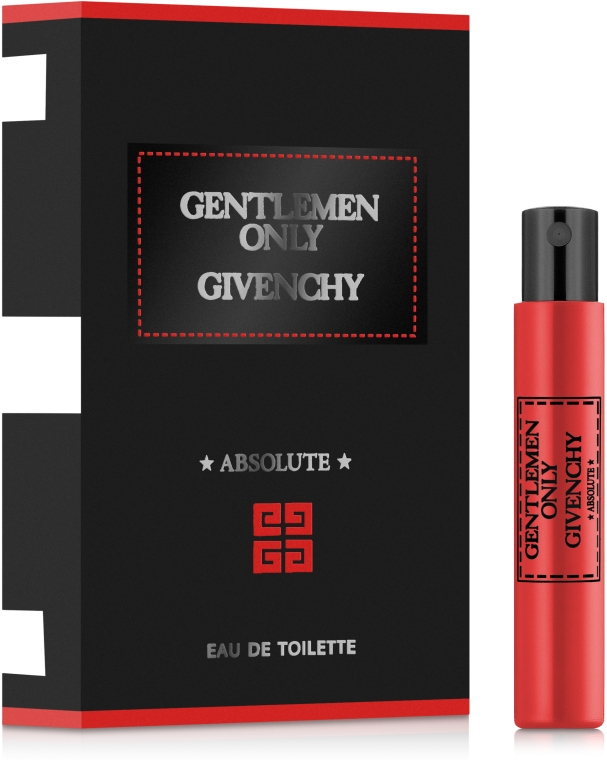 Givenchy Gentlemen Only Absolute - Парфюмированная вода (пробник) — фото N1