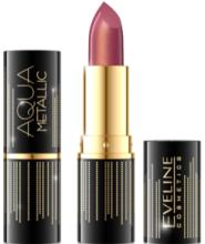 Духи, Парфюмерия, косметика Ультраувлажняющая губная помада - Eveline Cosmetics Aqua Metallic