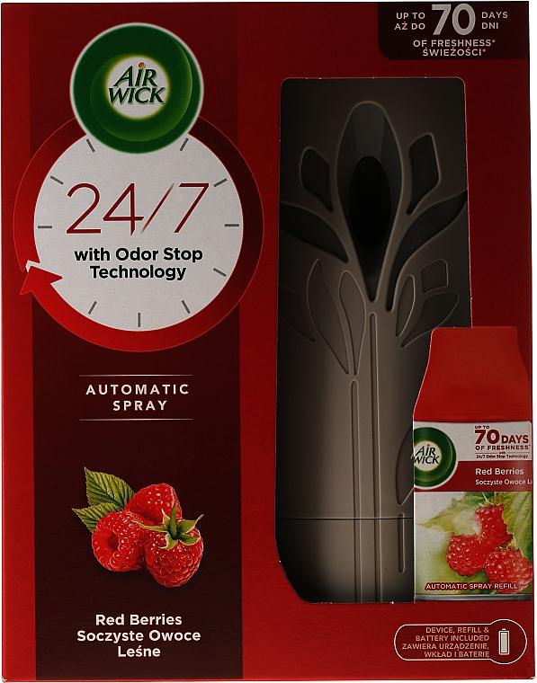 Автоматический освежитель воздуха - Air Wick Freshmatic Red Berries Juicy Forest Fruits