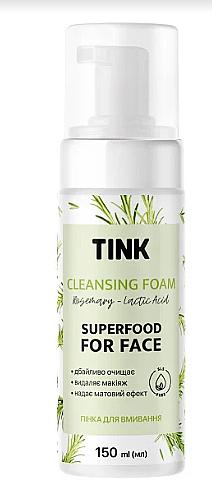 "Пенка для умывания ""Розмарин"" - Tink Cleansing Foam"