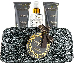 Набор - Grace Cole The Luxury Bathing Earl Grey & Orange Blossom (b/wash/100ml+b/cr/100ml+b/mist/100ml) — фото N1