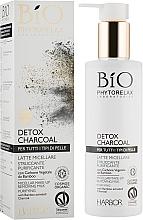 Духи, Парфюмерия, косметика Мицеллярное молочко для лица - Phytorelax Laboratories Bio Phytorelax Detox Charcoal Micellar Make-Up Removing Milk