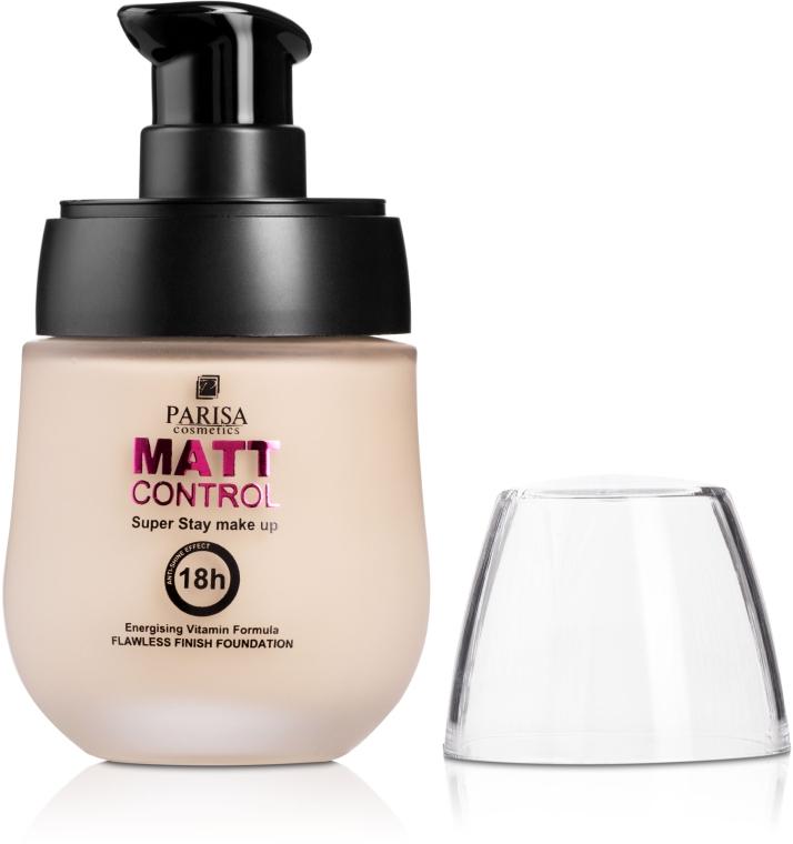 Матирующая тональная крем-пудра F-07 - Parisa Cosmetics Matt Control SPF20