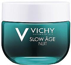 Духи, Парфюмерия, косметика Ночная крем-маска для коррекции признаков старения кожи - Vichy Slow Age Fresh Cream & Mask (мини)