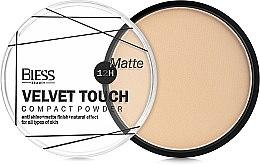 Духи, Парфюмерия, косметика Компактная пудра для лица - Bless Beauty Velvet Touch Compact Powder