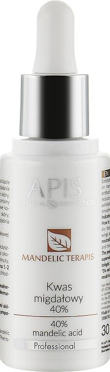 Миндальная кислота 40% - APIS Professional Mandelic TerApis Mandelic Acid 40%
