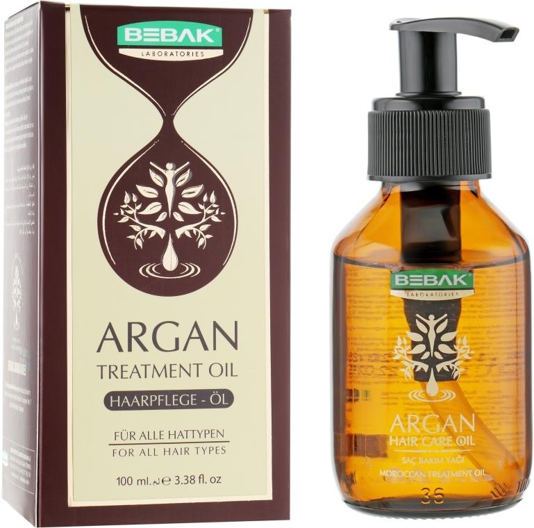 Аргановое масло для волос - Bebak Laboratories Argan Treatment Oil