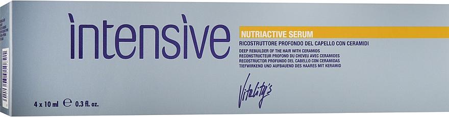 Питательная сыворотка с керамидами для восстановления волос - Vitality's Intensive Nutriactive Serum